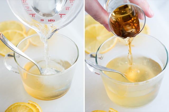 Use Bourbon or Dark Rum for Hot Toddies