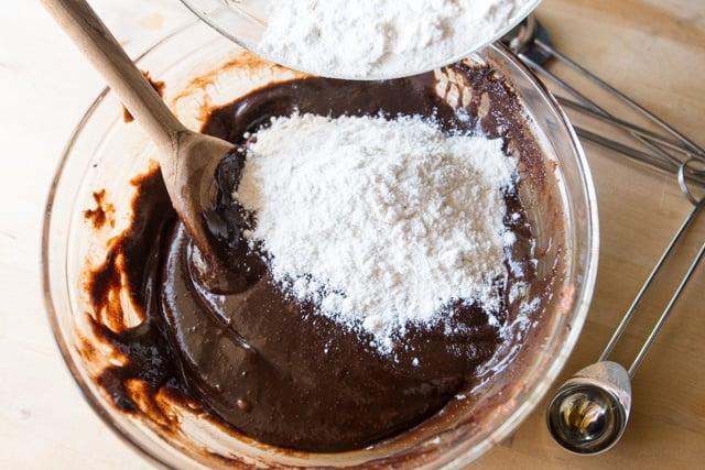 Salted Almond Brownies
