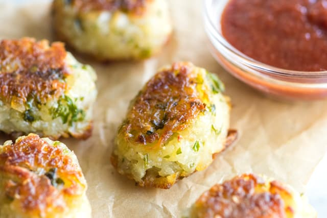 How to Make Homemade Tater Tots (baked not fried)