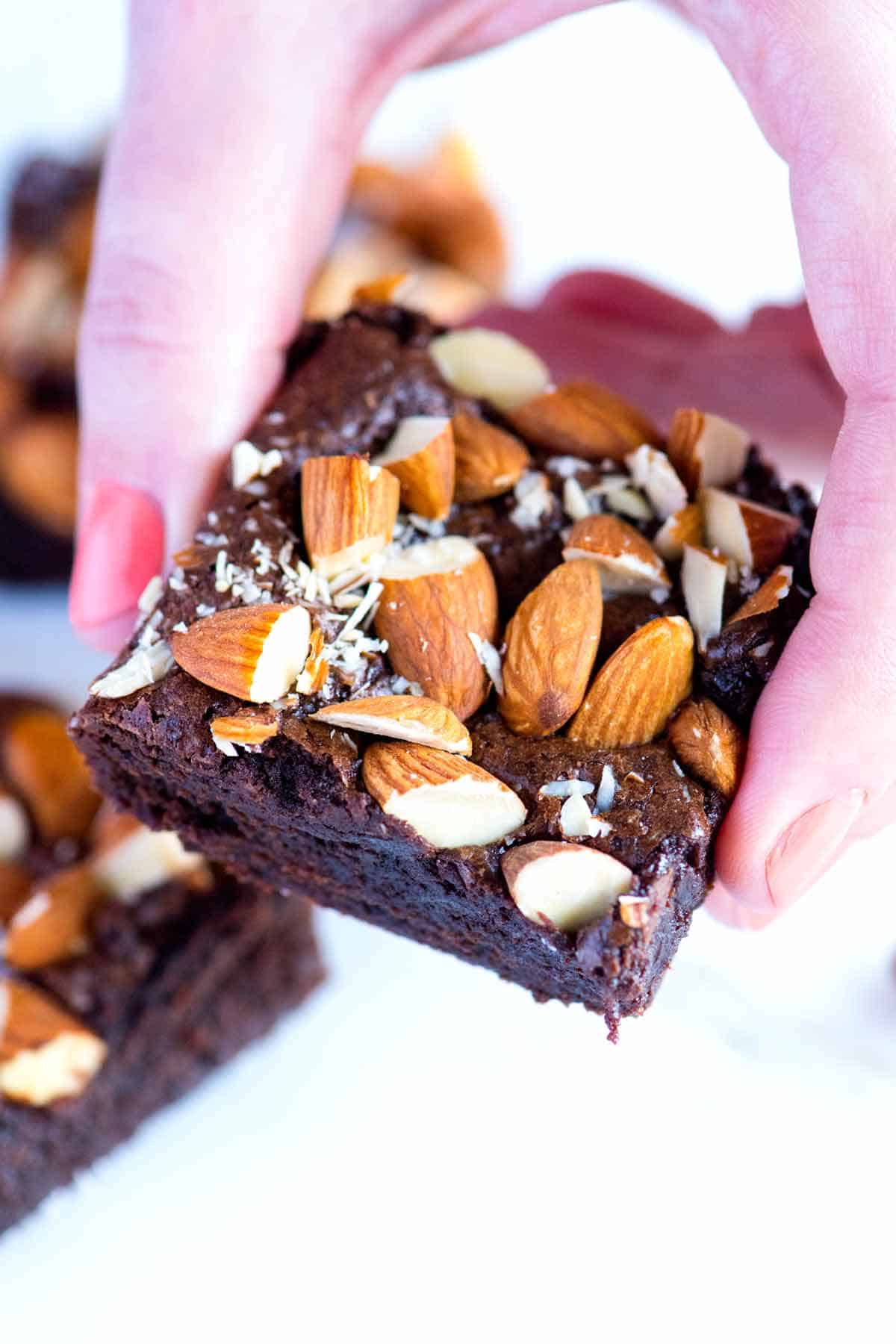 How to Make Salted Almond Brownies