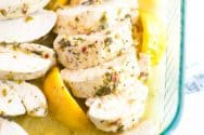 Easy Lemon Garlic Baked Chicken Breasts Recipe