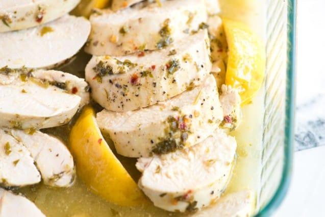 Easy Lemon Garlic Baked Chicken Breast Recipe
