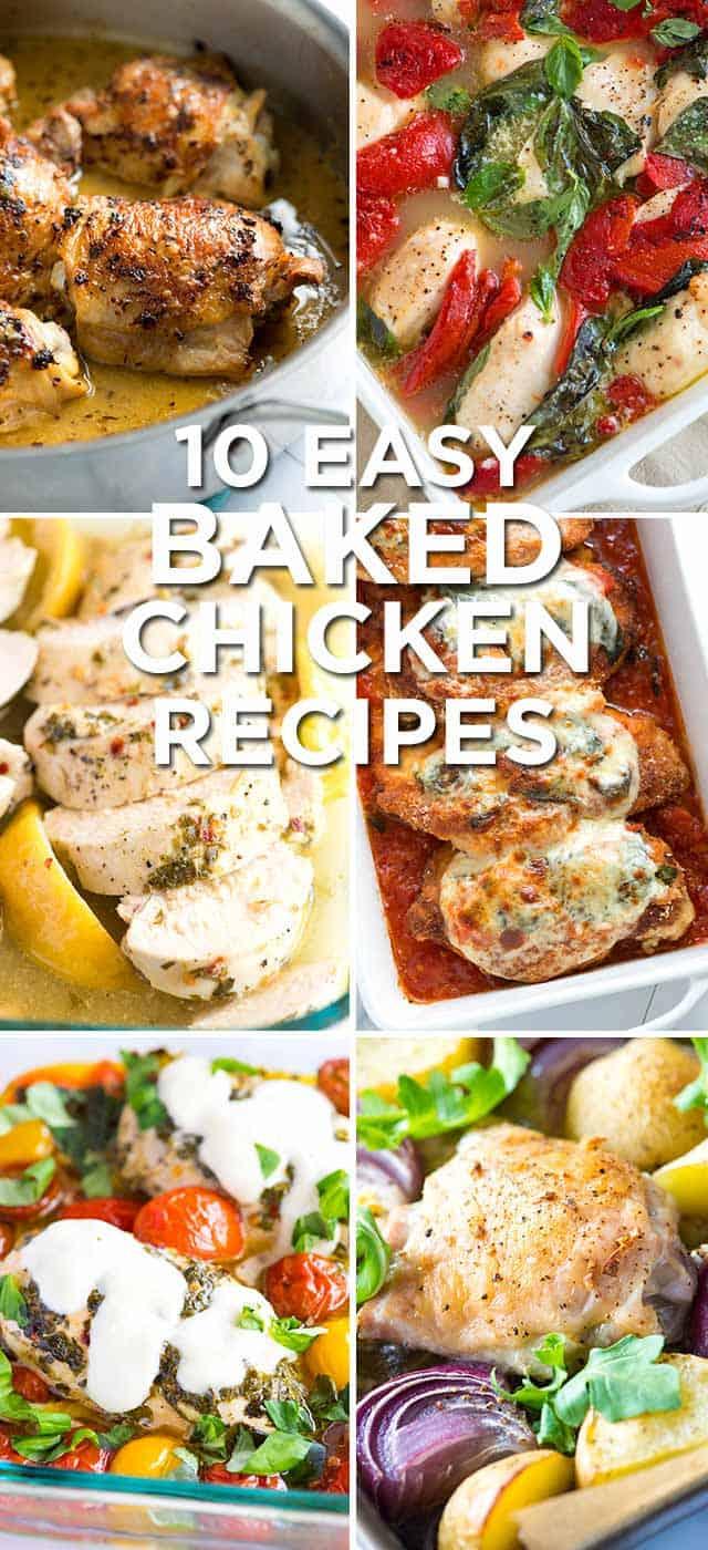 10 Easy Baked Chicken Recipes to Make Dinner Easier