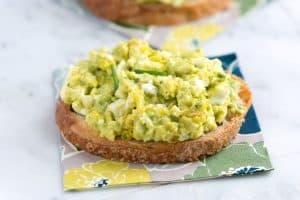 Easy Avocado Egg Salad Recipe