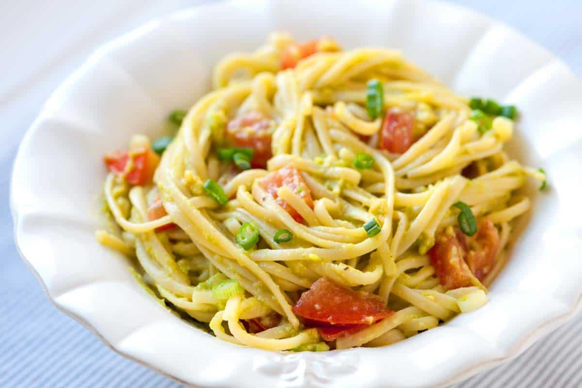 quick and easy avocado pasta recipe