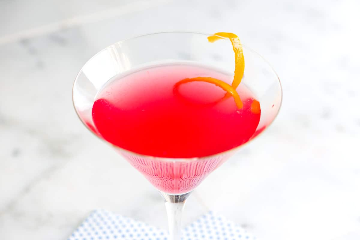 Perfect Cosmopolitan Cocktail Recipe