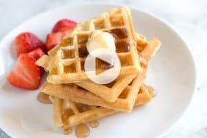 Best Homemade Waffle Recipe Video