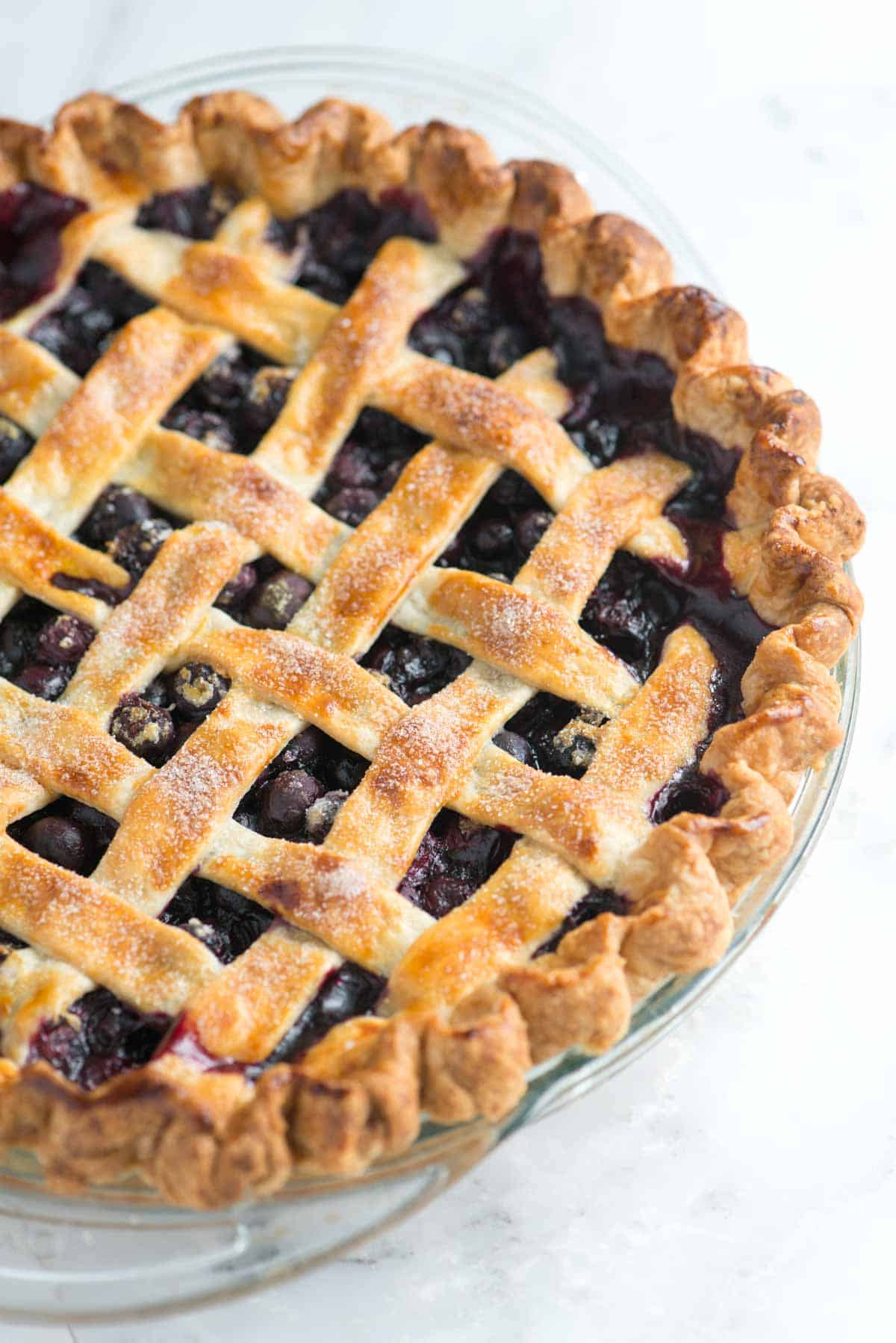 Easy Homemade Blueberry Pie Recipe - Toss, Fill and Bake