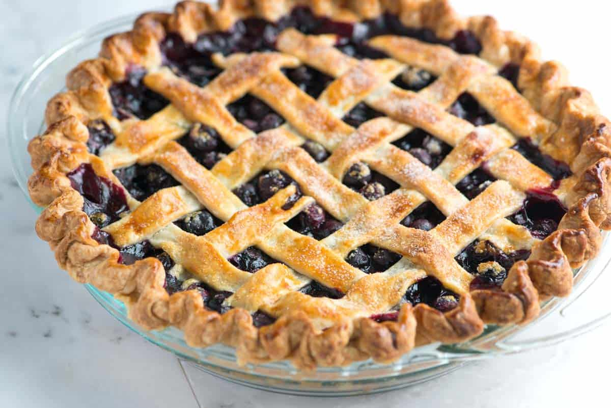 Easy, Homemade Blueberry Pie Recipe