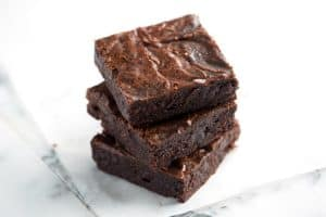 Easy Fudgy Brownies Recipe from Scratch