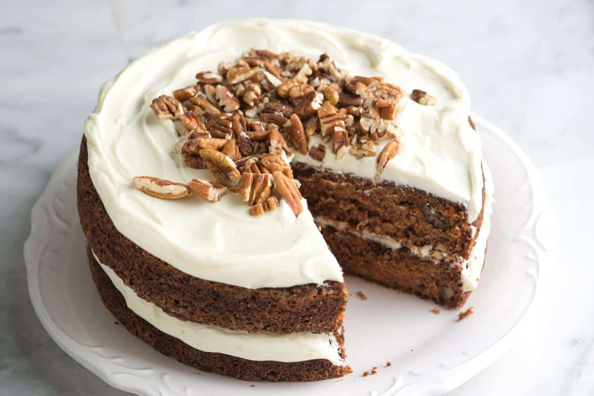 Incredibly Moist Carrot Cake Recipe - So Easy!