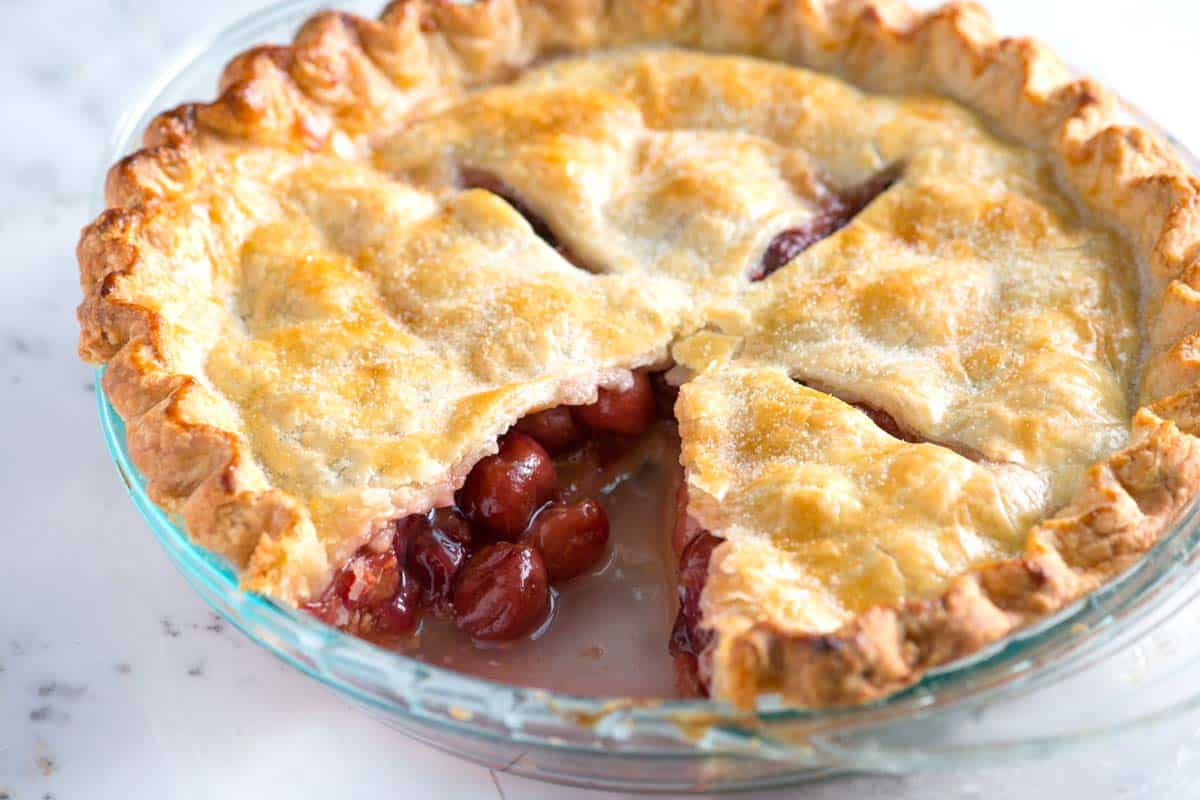 Easy, Homemade Cherry Pie Recipe