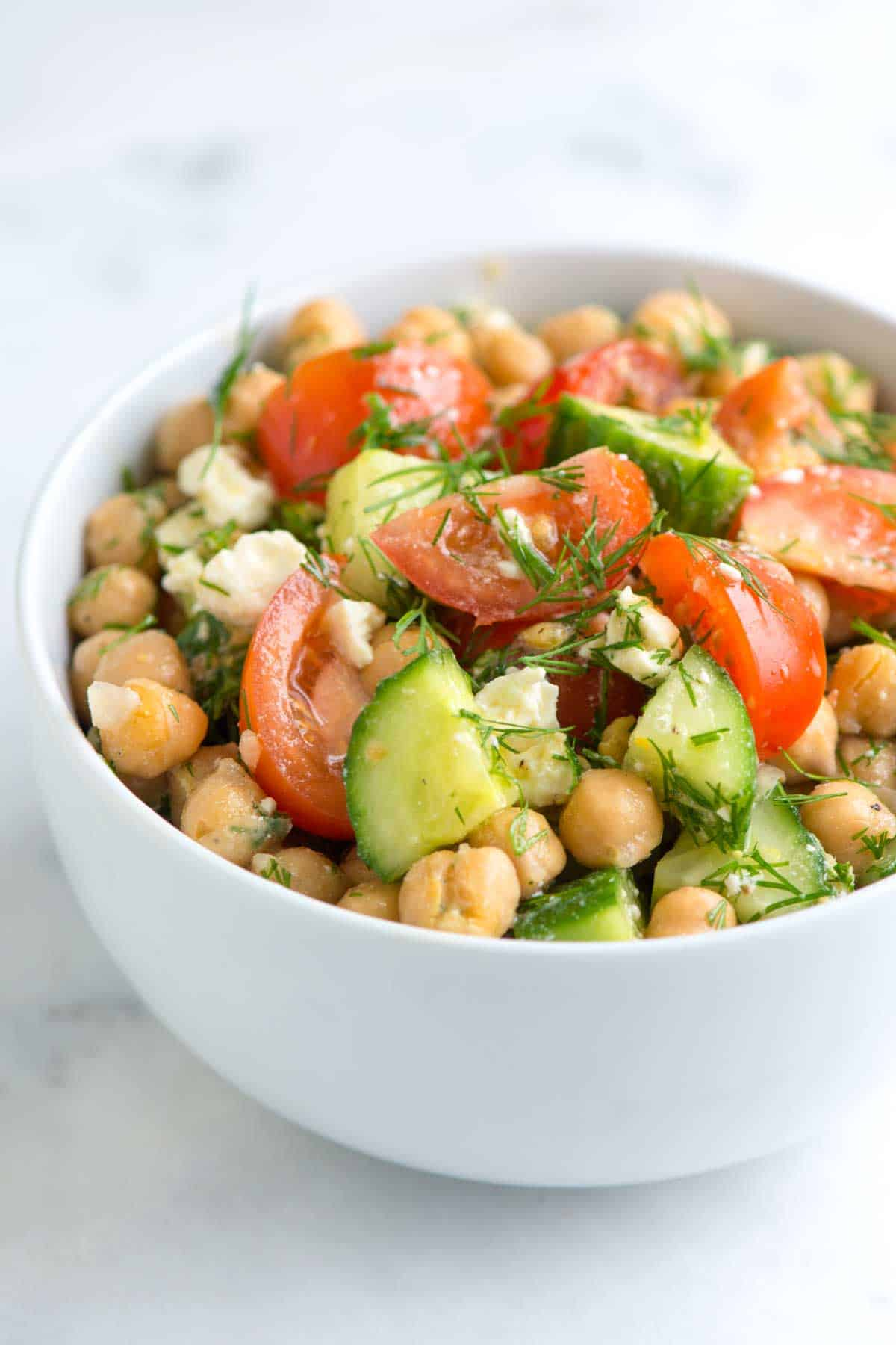 How to Make the Best Chickpea Salad