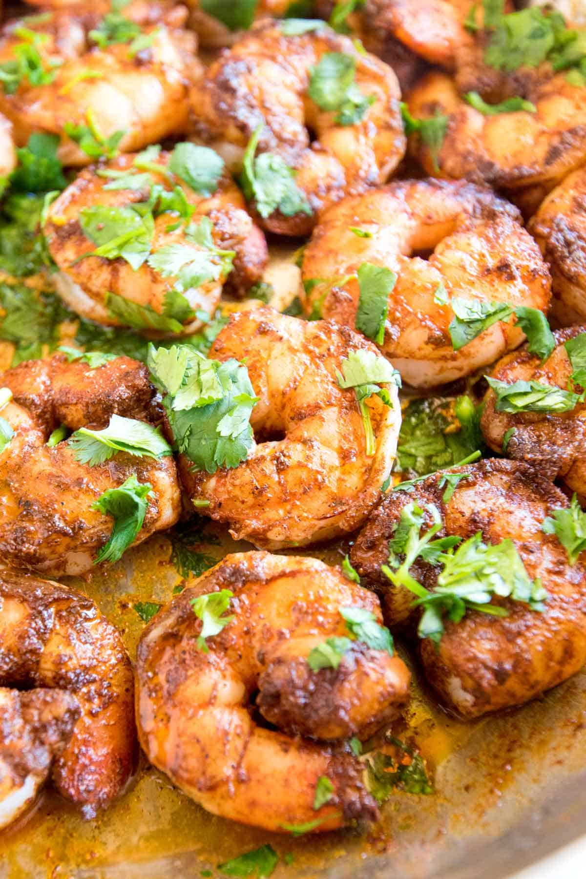Easy chile butter shrimp tacos recipe cooking chile butter shrimp for tacos forumfinder Image collections