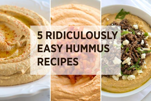 5 Easy Hummus Recipes