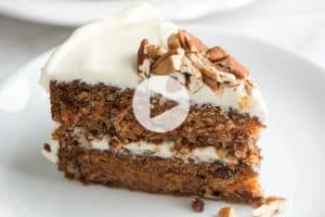 Incredibly Moist Carrot Cake Recipe Video