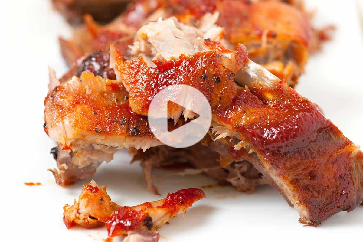 Easy, Fall-Off-The-Bone Oven Baked Ribs Recipe