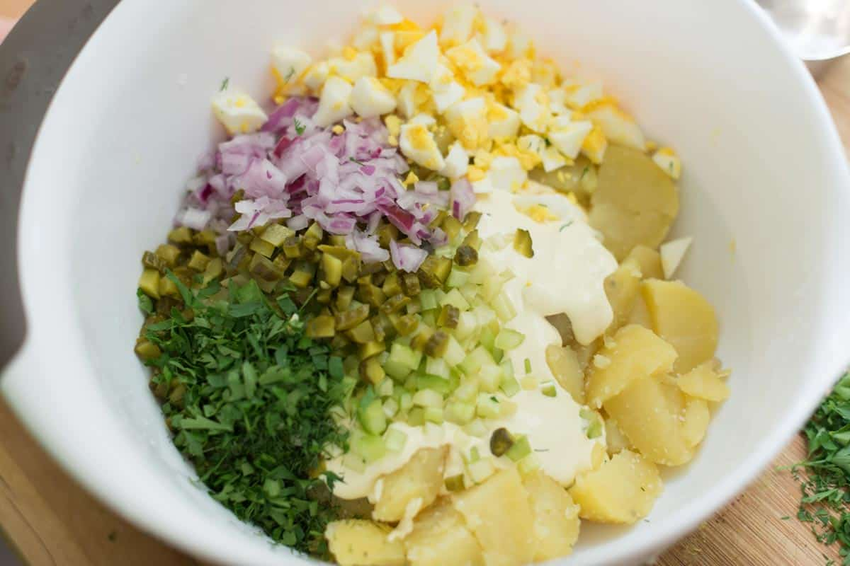 Creamy Baby Potato Salad Recipe