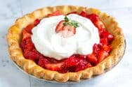 Simple and Fresh Strawberry Pie Recipe Video