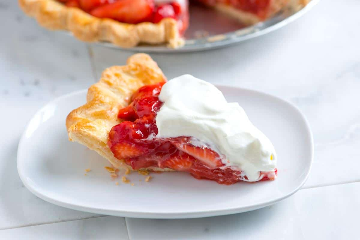 Slice of Strawberry Pie