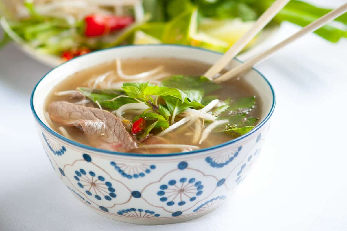 Pho Asian Food Recipe