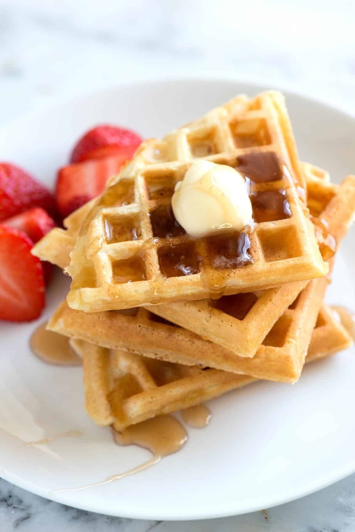 Mixed with flour, cornstarch guarantees that your waffles will be ...