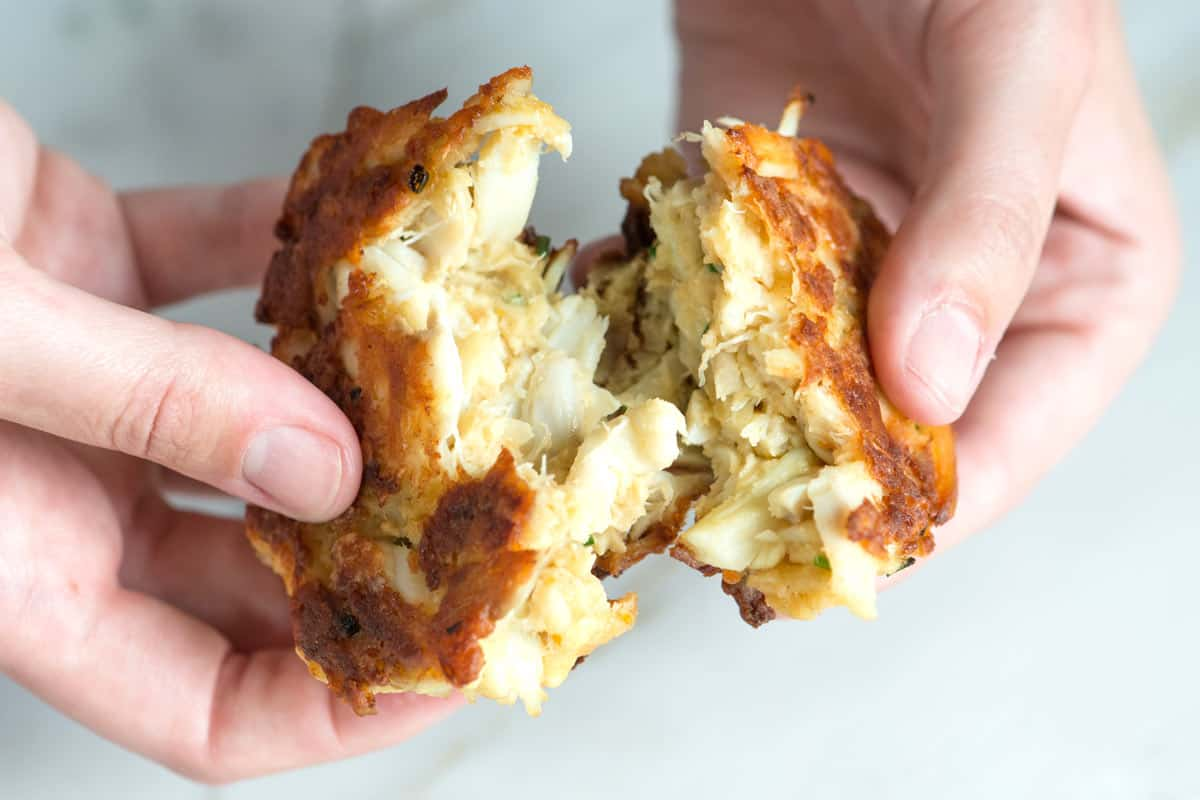 No Filler Maryland Crab Cake Recipe