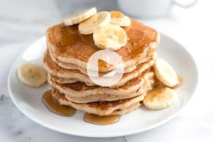 Easy Whole Wheat Pancakes Recipe Video