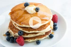 Fluffy Pancake Recipe Video