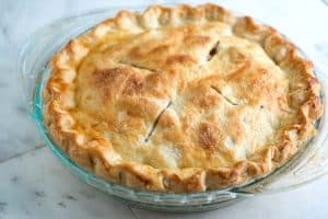 Easy All Butter Flaky Pie Crust Recipe