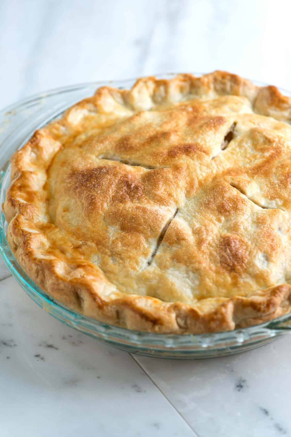 Easy All Butter Flaky Pie Crust