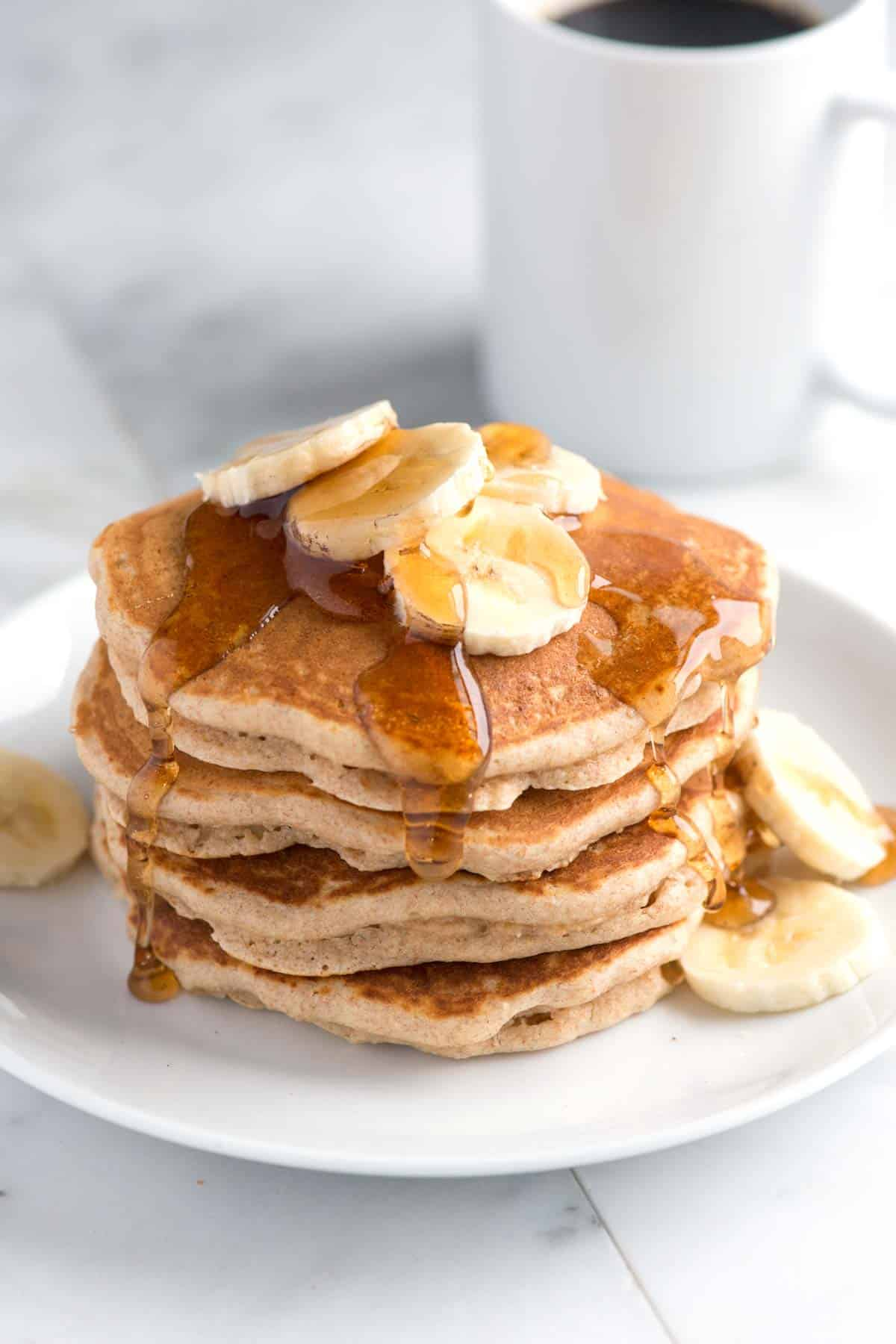 Easy, Delicious Whole Wheat Pancakes Recipe
