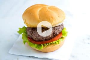 The Best No Fuss Hamburger Recipe Video