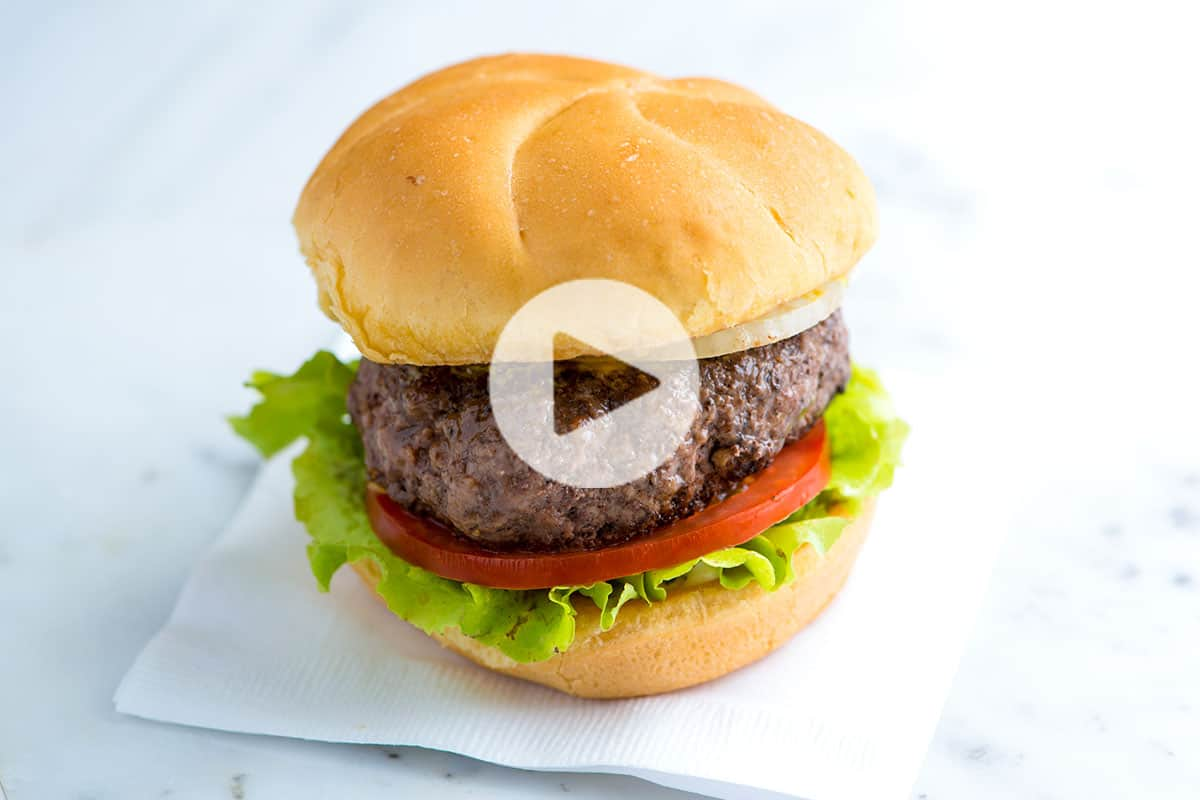 The Best No Fuss Hamburger