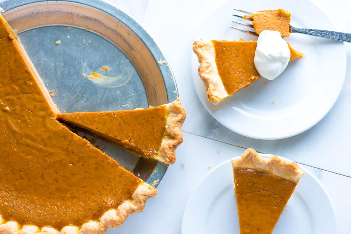 No Fail, Homemade Pumpkin Pie Recipe