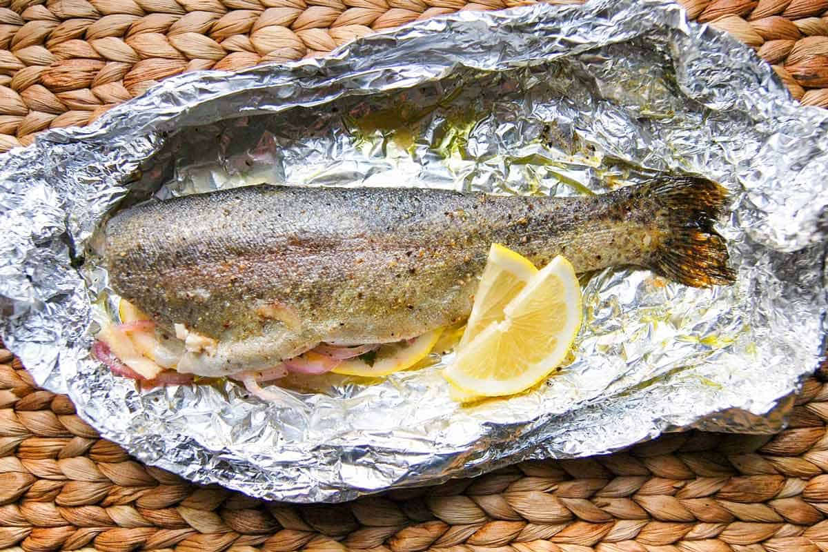 20 Minute Oven Baked Trout Recipe