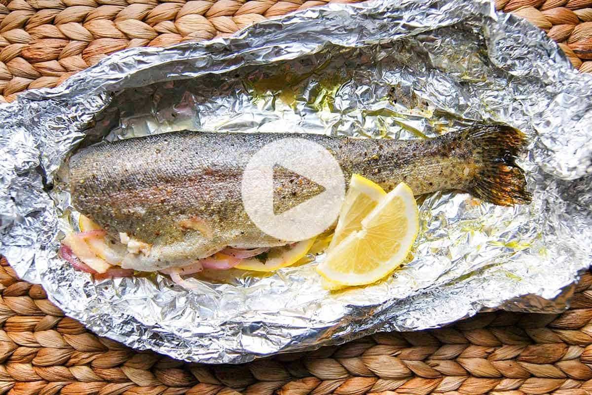 Baked trout with vegetables - the most delicious festive dish 93