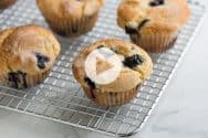 Quick and Easy Blueberry Muffin Recipe