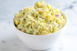 Easy Creamy Potato Salad Recipe with Tips