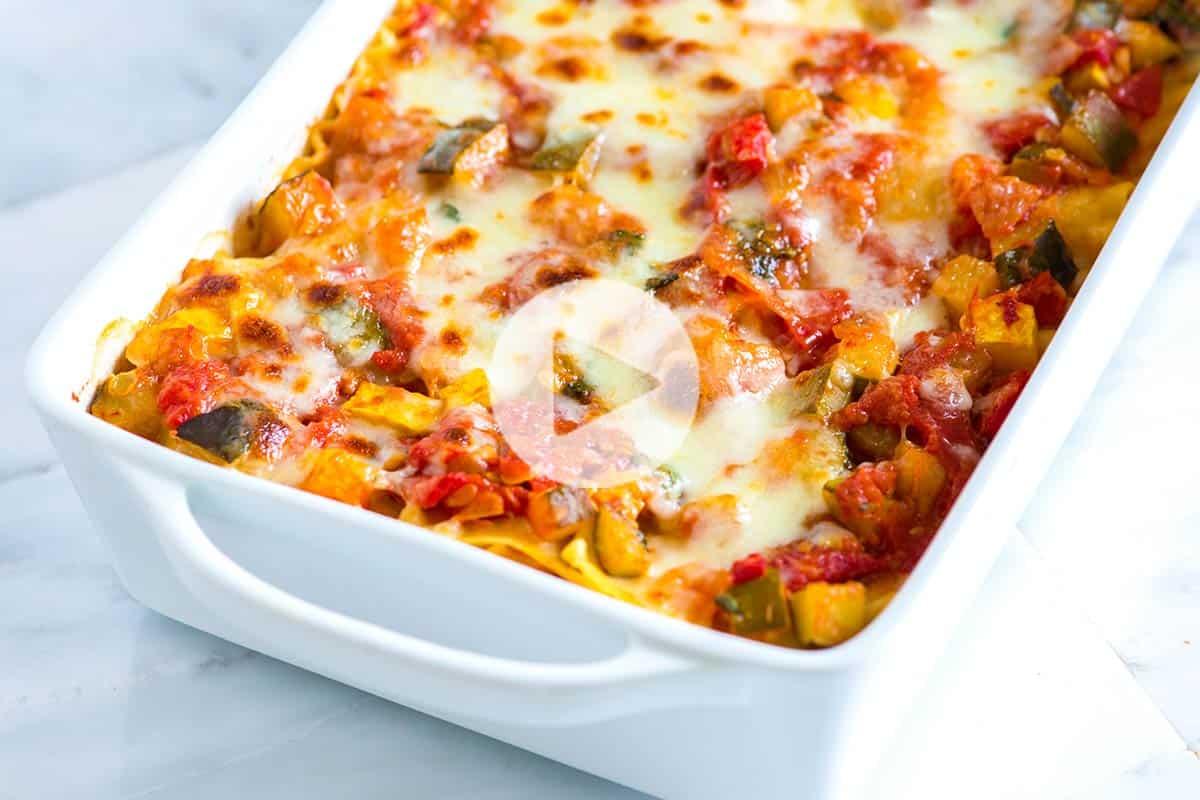 Easy vegetable lasagna recipe forumfinder Choice Image