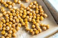 Honey Roasted Chickpeas with Sea Salt