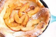 Apple Dutch Baby Pancake Recipe