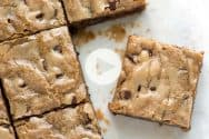 Easy No Fail Blondies Recipe Video