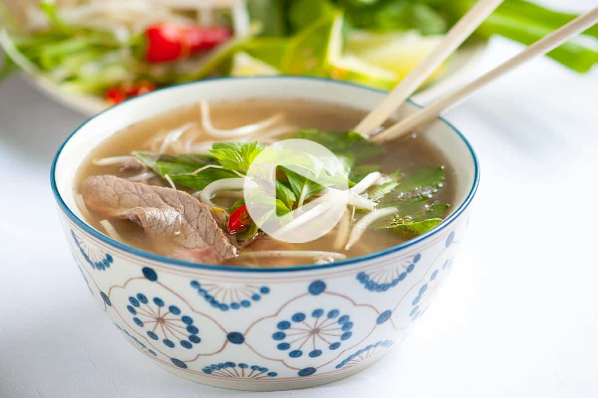 Homemade Vietnamese Pho Recipe with Video