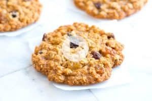Soft and Chewy Oatmeal Raisin Cookies Recipe