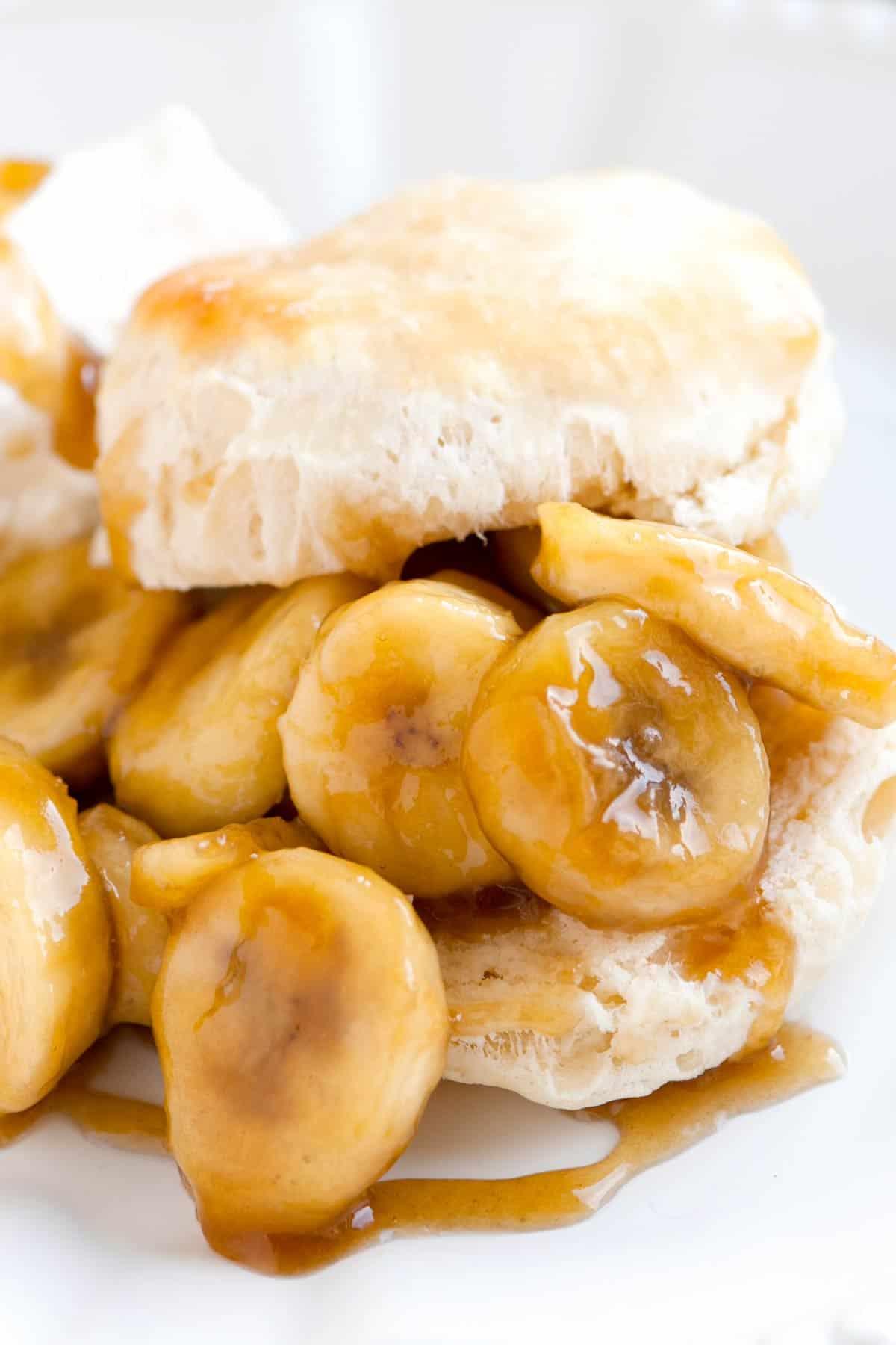 15 Minute Bananas Foster Shortcake Recipe