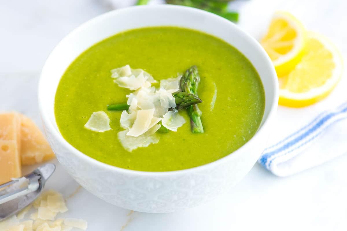 Guilt-Free Asparagus Soup Recipe