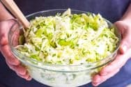 Picnic-Friendly Cilantro Lime Coleslaw Salad Recipe