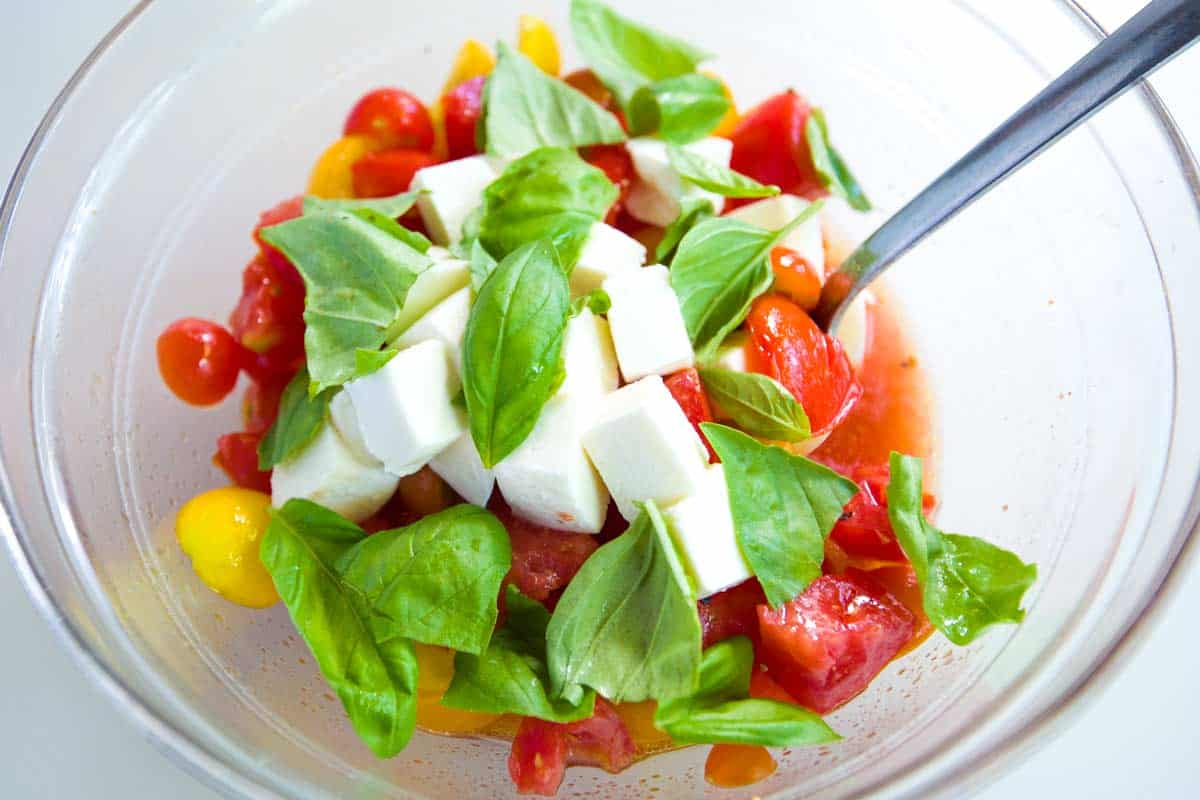 Seriously Good Chicken Caprese Salad Recipe