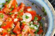Homemade Pico De Gallo Recipe Video